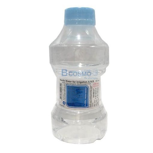 STERILE WATER น้ำเกลือล้างแผล ชนิดขวด 500 ML.(ANB)