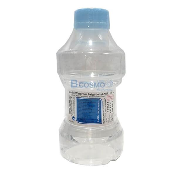 P-6374 - STERILE WATER น้ำยาล้างแผล NSS 0.9% ชนิดขวด 500 ML.(ANB) ,น้ำกลั่น สเตอร์ไรด์ EF1301-500