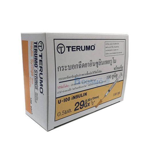 ไซริงค์ อินซูลีน SYRINGE INSULIN TERUMO 0.5ML.29G.
