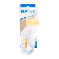 ขวดนมทรงสุขภาพ 4oz NATUR ส้ม ยี่ห้อ Natur