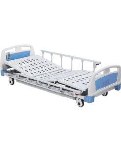 เตียงผู้ป่วย 3 ไกร์ ไฟฟ้า ราวสไลด์ พร้อมเบาะนอน 4 ตอน