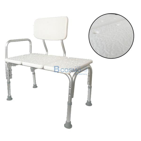 P-6610-เก้าอี้อาบน้ำมีพนักพิงใหญ่-Y799-8-1 เก้าอี้นั่งอาบน้ำ แบบยาว มีพนักพิงใหญ่ Y799