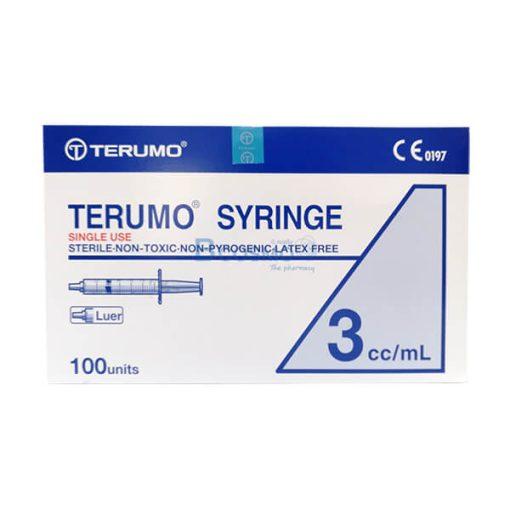 ไซริงค์ SYRINGE TERUMO 3ML. 100 ชิ้น