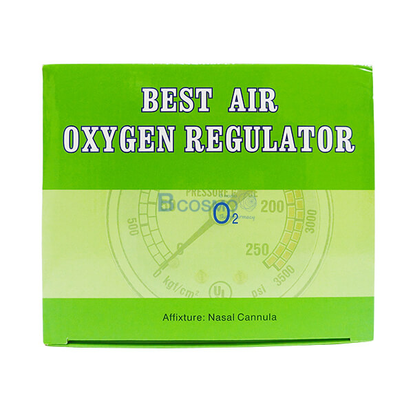 เกจ์ออกชิเจน P-6680 | EO0302 - เกจ์ออกชิเจน BEST AIR OXYGEN REGULATOR EO0302