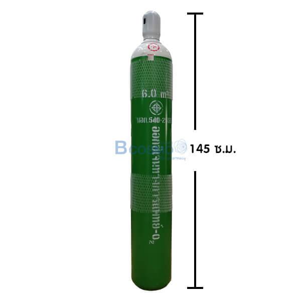 P-6685 - ท่อออกซิเจน 6 คิว (ถังออกซิเจน)