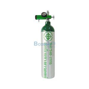 ท่อออกซิเจน 0.5 คิว (ถังออกซิเจนอลูมิเนียม) แถมกระเป๋าฟรี