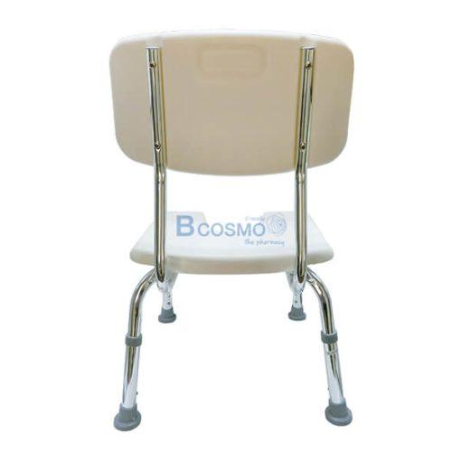 เก้าอี้นั่งอาบน้ำเว้ากลาง มีพนักพิงเล็ก Y796L