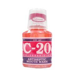 น้ำยาบ้วนปาก C-20 MOUTH WASH 180 ML.