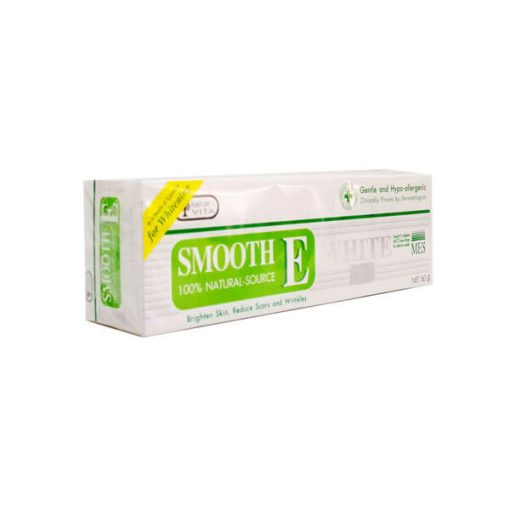 SMOOTH E CREAM PLUS WHITE 60 G.