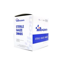 STERILE GAUZE SWABS YIBON 3×3 40 ซอง/กล่อง