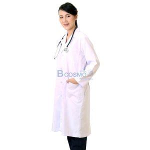 เสื้อกาวน์แพทย์แขนยาว