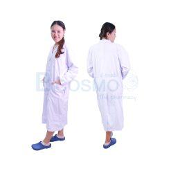 เสื้อกาวน์แพทย์ ตัวยาว-แขนยาว Size – [ S | M | L | XL ]