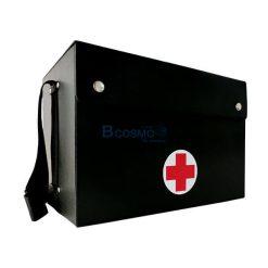 กระเป๋าปฐมพยาบาลแบบสะพายเล็ก สีดำ