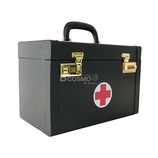 กระเป๋าปฐมพยาบาล มีสายสะพาย สีดำ,ชุดยาทำแผล,ชุดยาสามัญประจําบ้าน,ชุดพลาสเตอร์ปิดแผล,ชุดแก้ปวด คลายกล้ามเนื้อ,ปฐมพยาบาล,ชุดทำแผล,กระเป๋าปฐมพยาบาล,กระเป๋าปฐมพยาบาล , กระเป๋าหมอ , กล่องปฐมพยาบาลเบื้องต้น, กล่องปฐมพยาบาล