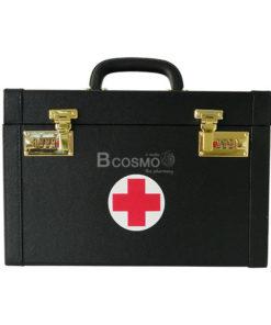 กระเป๋าปฐมพยาบาลแบบหูหิ้ว สีดำ