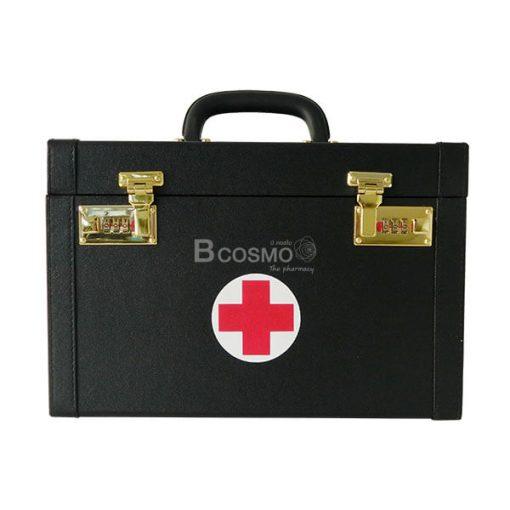 P-6808 - กระเป๋าปฐมพยาบาลแบบหูหิ้ว สีดำ