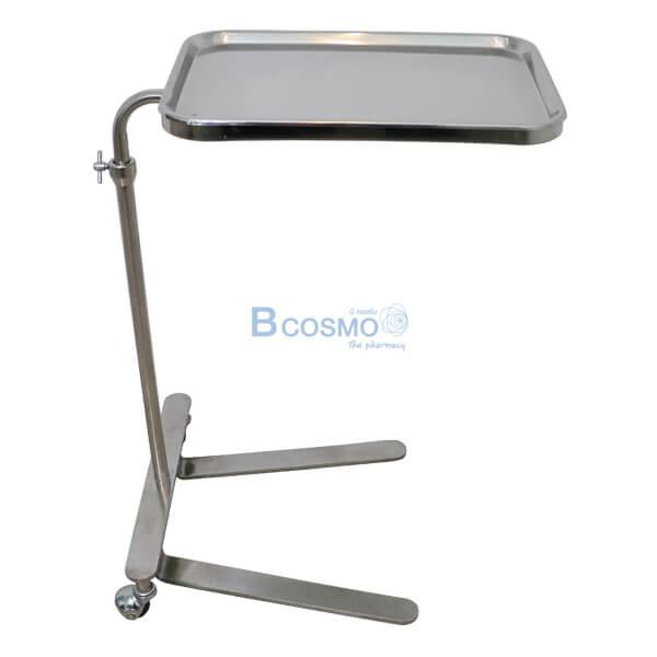 P-6816-โต๊ะเมโยวางเครื่องมือแพทย์-Mayo-Stand-2-ล้อ-พร้อมถาด-21 โต๊ะเมโยวางเครื่องมือแพทย์ (Mayo Stand) 2 ล้อ พร้อมถาด
