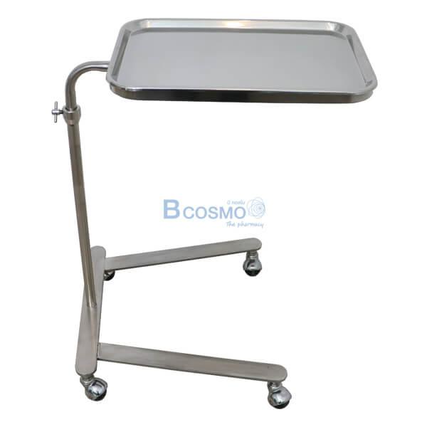 P-6817-โต๊ะเมโยวางเครื่องมือแพทย์-Mayo-Stand-4-ล้อ-พร้อมถาด-20 โต๊ะเมโยวางเครื่องมือแพทย์ (Mayo Stand) 4 ล้อ พร้อมถาด