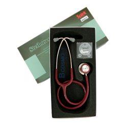 หูฟังแพทย์ STETHOSCOPE SPIRIT CK-S606P สีเลือดหมู