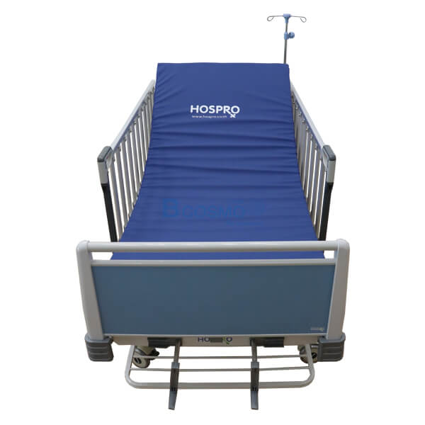 P-6916-เตียงผู้ป่วย-2-ไก-มือหมุน-HOSPRO-พร้อมเบาะนอน-10 เตียงผู้ป่วย 2 ไกร์ มือหมุน HOSPRO พร้อมเบาะนอน รุ่น Eco