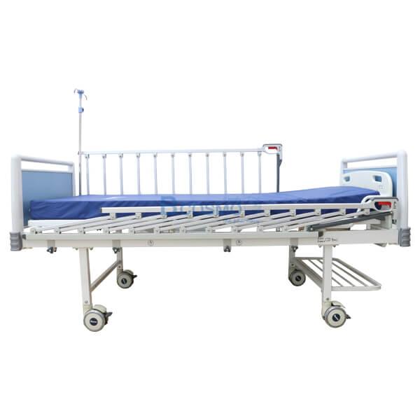 P-6916-เตียงผู้ป่วย-2-ไก-มือหมุน-HOSPRO-พร้อมเบาะนอน-7 เตียงผู้ป่วย 2 ไกร์ มือหมุน HOSPRO พร้อมเบาะนอน รุ่น Eco
