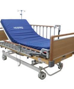 เตียงผู้ป่วย HOSPRO 3 ไก ไฟฟ้า ลายไม้ พร้อมเบาะนอน รุ่น Royal