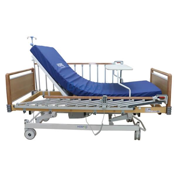 P-6919-เตียงผู้ป่วย-HOSPRO-3-ไก-ไฟฟ้า-ลายไม้-9 เตียงผู้ป่วย HOSPRO 3 ไก ไฟฟ้า ลายไม้ พร้อมเบาะนอน รุ่น Royal