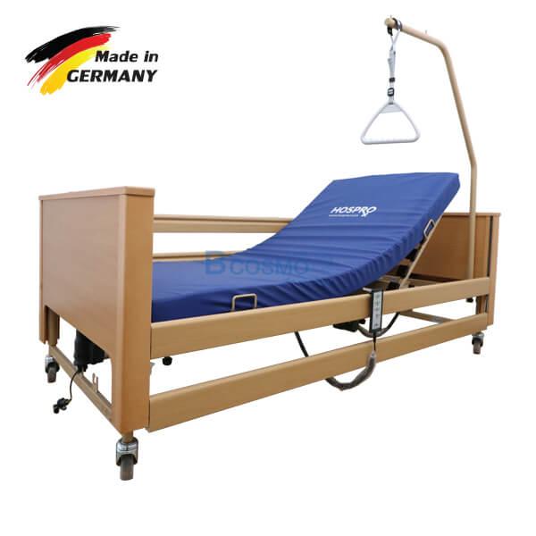 P-6942-เตียงผู้ป่วย-Arminia-III-4-ไก-พร้อมเบาะนอน-4-ตอน-นำเข้าจาก-เยอรมัน-cc เตียงผู้ป่วยไฟฟ้า 4 ฟังก์ชั่น Burmeier รุ่น Arminia III 24V นำเข้าจาก เยอรมัน