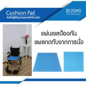 แผ่นเจลรองนั่งใช้เพื่อป้องกันการเกิดแผลกดทับ (Cushion Pad) ads