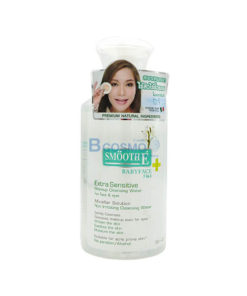 Smooth E Extra Sensitive Makeup Cleansing Water 300ml.