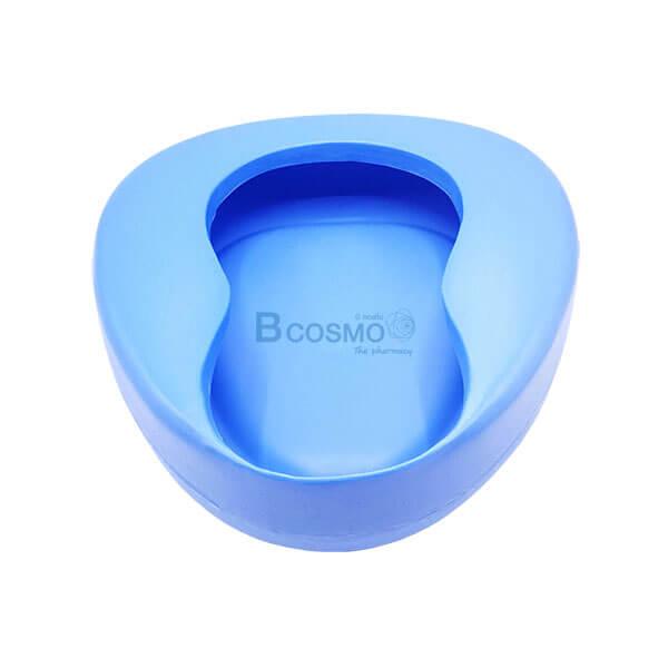 P-5010 - หม้อนอนพลาสติกสีฟ้า B-02