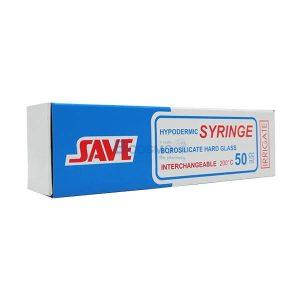 [ 12 กล่อง ]ไซริงค์แก้วสำหรับให้อาหาร SAVE 50 ML.