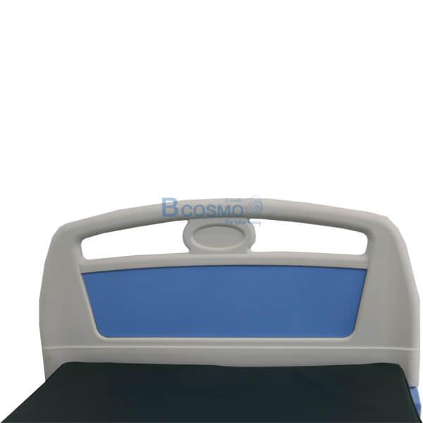 P-5961-เตียงผู้ป่วย-HOSPITAL-BED-มือหมุน-2-ไกร์-หัวท้าย-ABS-ราวสไลค์-พร้อมเบาะนอน-4-ตอน-4 เตียงผู้ป่วย มือหมุน 2 ไกร์ ราวสไลด์ (รุ่นพิเศษ) ฟรีเบาะนอน 4 ตอน