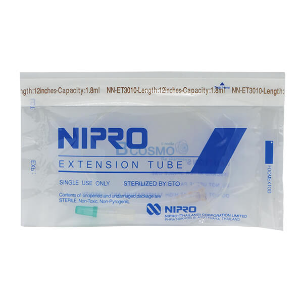 P-6887 - สายเอ็กซ์เทนชั่น (Extension Tube) NIPRO 12'' EF0102-12
