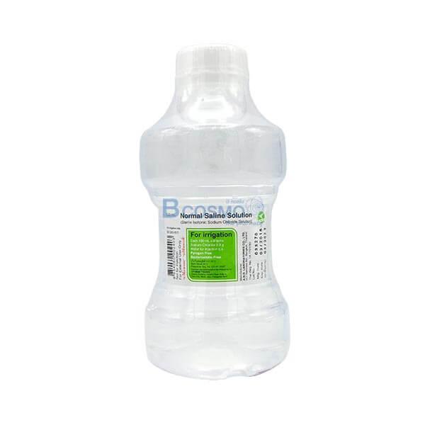 น้ำเกลือบริสุทธิ์ N.S.S.500 ML. ANB ขวดเกลียวใส EF1202-500