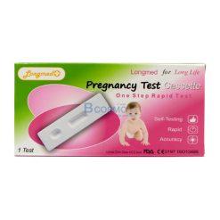แผ่นตรวจตั้งครรภ์ แบบหยด LONGMED