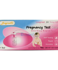 แผ่นตรวจตั้งครรภ์ แบบจุ่ม LONGMED
