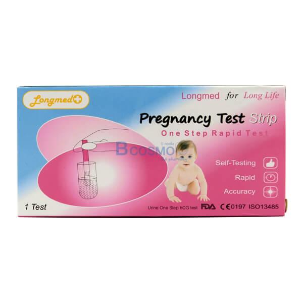 P-6947 - แผ่น ตรวจตั้งครรภ์ แบบจุ่ม LONGMED , ชุดทดสอบการตั้งครรภ์