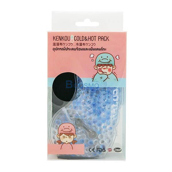 P-6957 - อุปกรณ์ประคบร้อนเย็นเคนโกะ ผู้ใหญ่ Gel Bead-Adult , Face Mask Kenkou