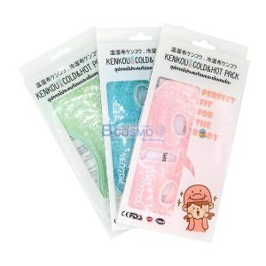 อุปกรณ์ประคบร้อนเย็นเคนโกะ หน้ากาก Gel Bead-Face Mask Pink