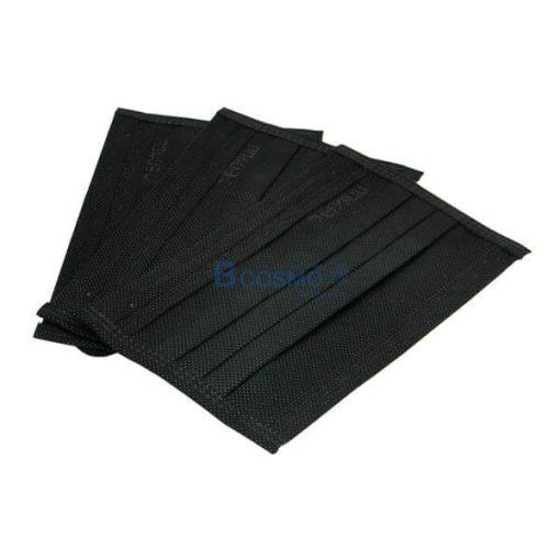 P-6969 - หน้ากากอนามัย เคนโกะ Face Mask-Carbon Black (คาร์บอนสีดำ) 50 ชิ้นกล่อง-6