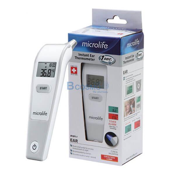 P-6992 - เทอร์โมมิเตอร์วัดอุณหภูมิทางช่องหู ระบบอินฟาเรด Microlife IR1DF1-1 TM0007