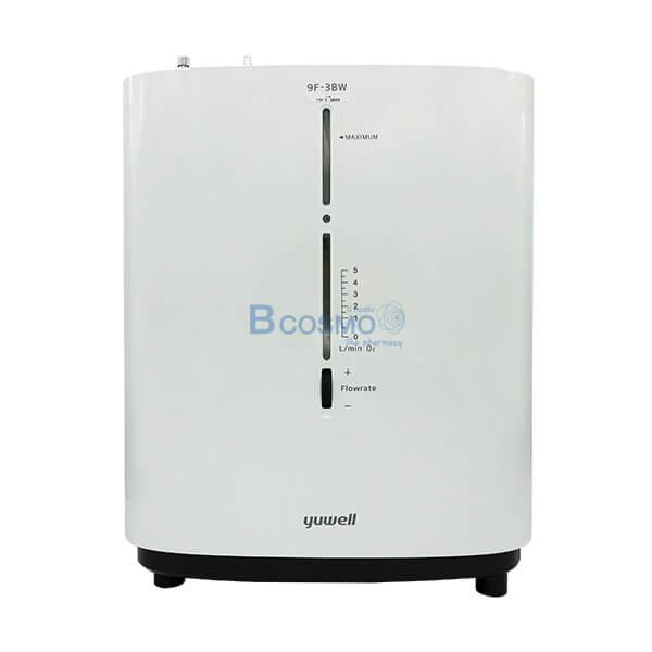 P-7005-เครื่องผลิตออกซิเจน-3-ลิตร-พ่นยาได้-YUWELL-9F-3BW-เสียงพูดภาษาไทย เครื่องผลิตออกซิเจน 3 ลิตร พ่นยาได้ YUWELL 9F-3BW (เสียงพูดภาษาไทย)