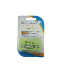ขี้ผึ้งสำหรับคนจัดฟัน (Dr. Phillips) 2 กล่อง (กลิ่นมินท์)