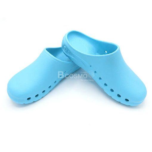 รองเท้าห้องผ่าตัด ANNO รุ่น ANE1302 สีฟ้า-2