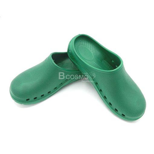 รองเท้าห้องผ่าตัด ANNO รุ่น ANE1302 สีเขียวเข้ม-1
