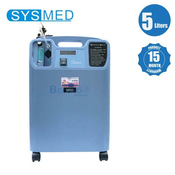 เครื่องผลิตออกซิเจน 5 ลิตร SYSMED รุ่น M50