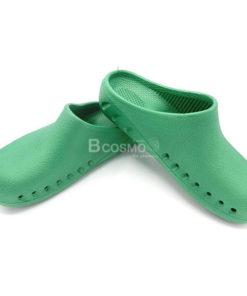 รองเท้าห้องผ่าตัดกันลื่น ANNO รุ่น ANE1301 สีเขียว OR Shoes