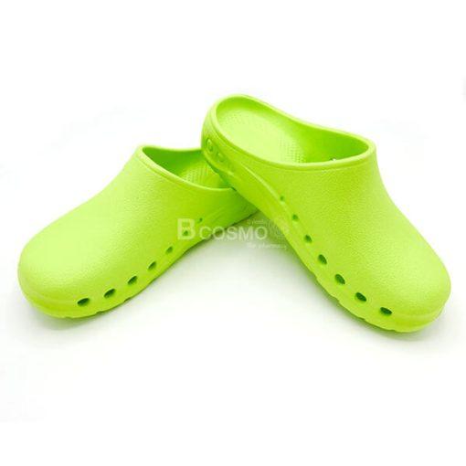 MT0211-S-GR - รองเท้าห้องผ่าตัด ANNO รุ่น ANE1302 สีเขียว-2