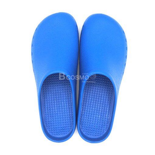 MT0212-BL รองเท้าห้องผ่าตัดกันลื่น ANNO รุ่น TPE1005 สีฟ้า-4
